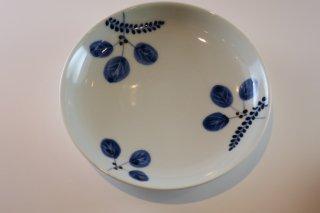 染付木の葉4寸皿(有田焼)