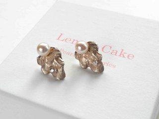 【Akoya  Pearl  pierced earrings  l】
