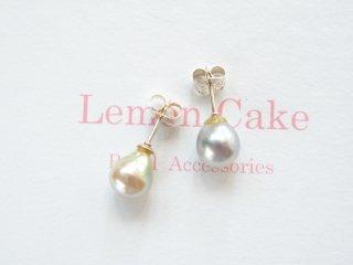 【Akoya Pearl pierced earrings s】