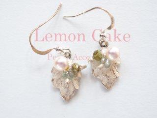 【Akoya Pearl pierced earrings g】