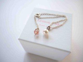 【Akoya  bracelet cherry 】
