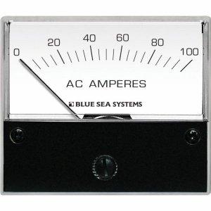 227549<br>AC Analog Ammeter 0−100 Amp + Coil<br>(8258)