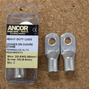 227363<br>Ancor #2/0 HD Eye 端子 3/8&#34;アイ(2個) <br>(252296)