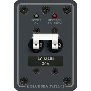 227530<br>BlueSea AC メインスイッチ 30Amp ダブルポール 8077<br>(8077)