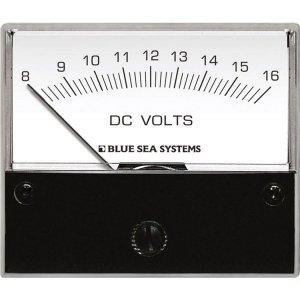 227539<br>電圧計 ANALOG DC 8-16 V (W66.7XH60.3)<br>(8003)