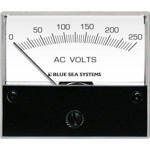 227542<br>電圧計 ANALOG AC 0-250 V (W66.7XH60.3)<br>(9354)