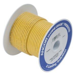 228908<br>Ancor TIN電線 #1/0(53&#13215;)黄色/15M巻<br>(116905)