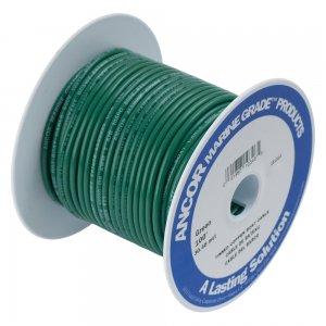230364 Ancor TIN電線 #12(3㎟)緑色/30M巻 (106310)