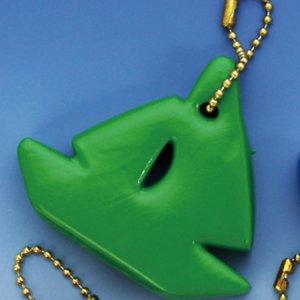 370134<br>フローティングキーホルダー<br>(ヨット型)緑