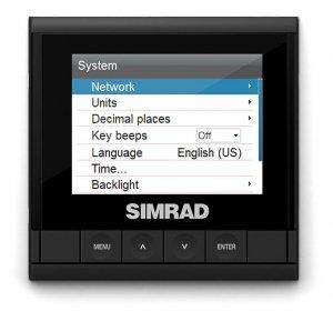 420075<br>Simrad IS35 デジタルディスプレイ<br>(000-13334-001)