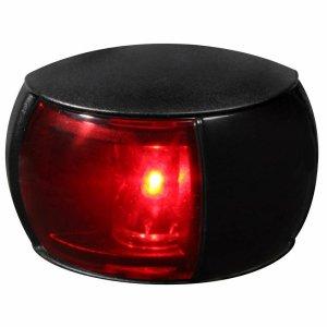 740220<br>Hella 左舷灯 LEDコンパクト 黒 8-28V<br>(2LT980520061)