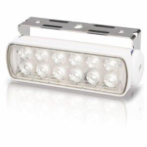 740305<br>Hella Sea Hawk LED デッキライト White スポット 3W2連<br>(2LT980670211)