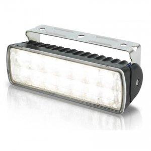 740334<br>Hella Sea Hawk-XLR 18W LED作業灯 黒ケース SPOT<br>(2LT980740201)