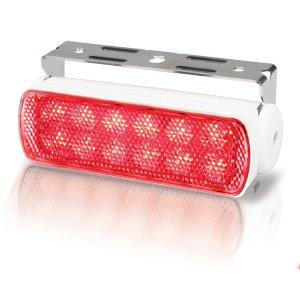 740308<br>Hella Sea Hawk3W赤色 LED デッキライト 12V3W White スプレッド <br>(2LT980670351)