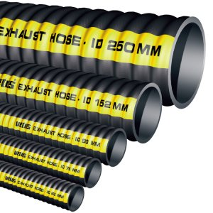 601578<br>Vetus エギゾーストホース203mm <br>(外径218mm) <br>(SLANG200)