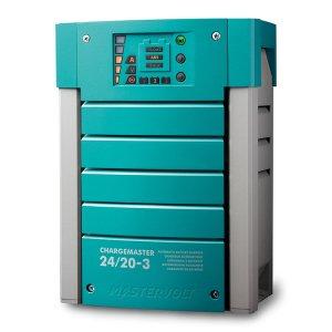 710011 MasterVolt バッテリー充電器Out 24V20Amp 3Bank (44020200)