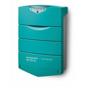 710005<br>MasterVolt ChargeMaster Plus 充電器 12V75Amp 3Bank<br>(44310750)