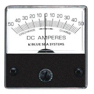 227543<br>BlueSea 電流計 アナログ DC 50-0-50 <br>(W66.7xH60.3)<br>(8252)