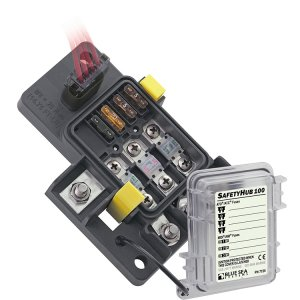 300023<br>BlueSea ヒューズBOX 4ATO 3MIDI circuit<br>(7725)