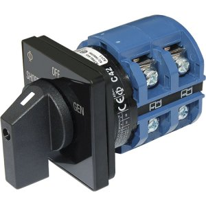 227757<br>BlueSea ACロータリーセレクタースイッチ2P + OFF65Amp 2Pole<br>(9011)