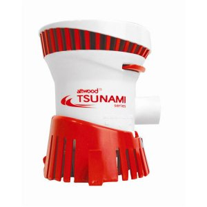 319081<br>Attwood TSUNAMI 500 ビルジポンプ 12 V <br>(4606-1)