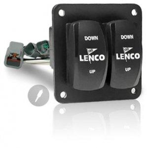 401564<br>Lenco ダブルロッカースイッチキット /電源ケーブル無<br>(10222-201D)