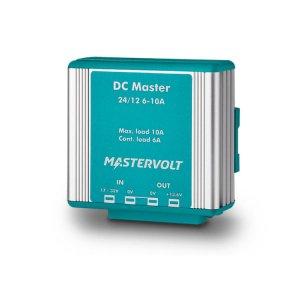 710031<br>Mastervolt DC Master コンバーター 24/12-6A (6 A cont. / 10 A 2 min.)<br>(81400200)