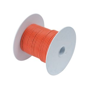 230110<br>Tin電線#18(0.8mm2)オレンジ/Meter<br>(100510)