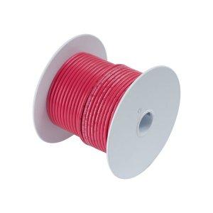 230302 Tin電線#18(0.8mm2)赤色/30M巻 (100810)
