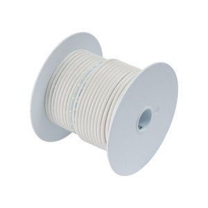 230303 Tin電線#18(0.8mm2)白色/30M巻 (100910)