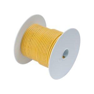 230306 Tin電線#18(0.8mm2)黄色/30M巻 (101010)
