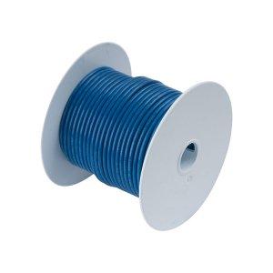 230307 Tin電線#18(0.8mm2)青色/30M巻 (100110)