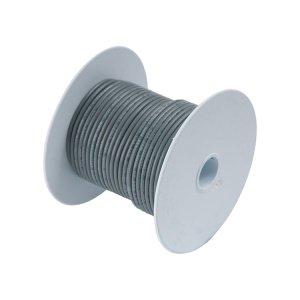 230309 Tin電線#18(0.8mm2)灰色/30M巻 (100410)