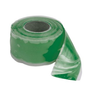 228554<br>自己融着テープ 25mm x 3.3M, Green<br>(344010)