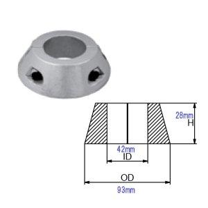 320989<br>MAX Prop  S Drive Ring Zinc 70mm w/30-35 shaft <br>(CMMP70SDZ)