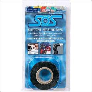 316239<br>SOS シリコンリペアーテープ黒 2.5cm x 330cm<br>(RE6490)