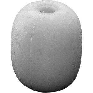 100550<br>EVAブイSHE-6白色 145x94x20<br>(SHE-6白色)