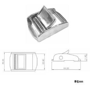 111423<br>ステンレスカムバックル25mm<br>(KH16021)