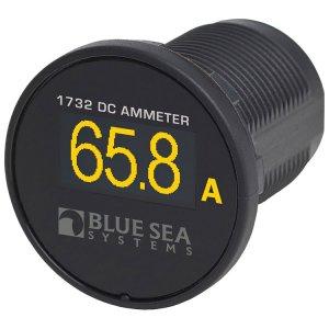 227967<br>BlueSea ミニ OLED DC 電流計<br>(1732)
