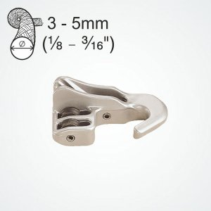 323115<br>Clamcleat Cleat w/Hook &amp; 3 シーブ<br>(CL248)