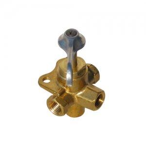 318287<br>4way バルブ1/4F NPT (Brass )<br>(142077)