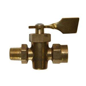 318288<br>ストップ バルブ1/4F NPT F &amp;   Male (Brass )<br>(142072)