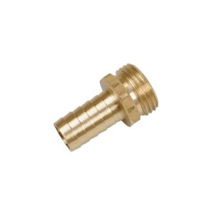 318748<br> 3/4M-GHT-5/8 ホースアダプター (Brass )<br>(1916840)