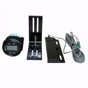 410121<br>TH デジタル ゲージ Kit for Atlas 4 &amp;   8&#34; Black<br>(FAGK-1-DP)