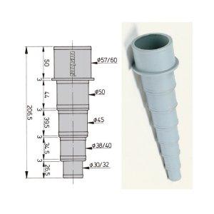 601053<br>ホースアダプター 30-60mm<br>(HA3060)