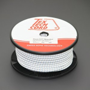 110429 TexTech ショックコード 8mm 白色 100M巻