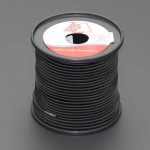 110461 TexTech ショックコード 4mm 黒色 50M巻
