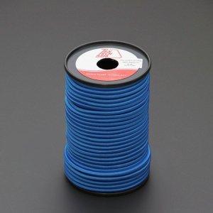 110481 TexTech ショックコード 6mm 青色 50m巻