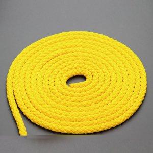 110568  PP8打ちロープ 8mm 黄色 (078080xxYellow-200)