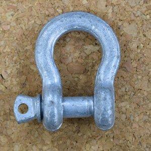 111103<br>亜鉛メッキおたふくシャックル 9.5mm